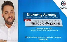 Νταλιάνης Αργύρης | Υποψήφιος Περιφερειακός Σύμβουλος